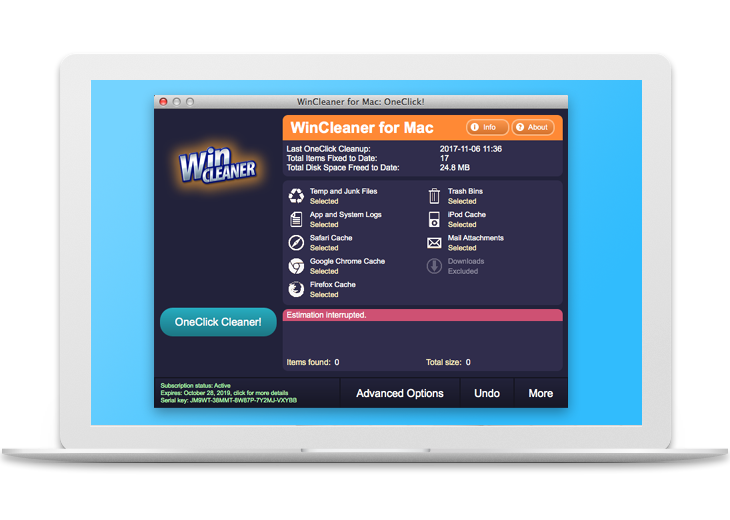 WinCleaner Software